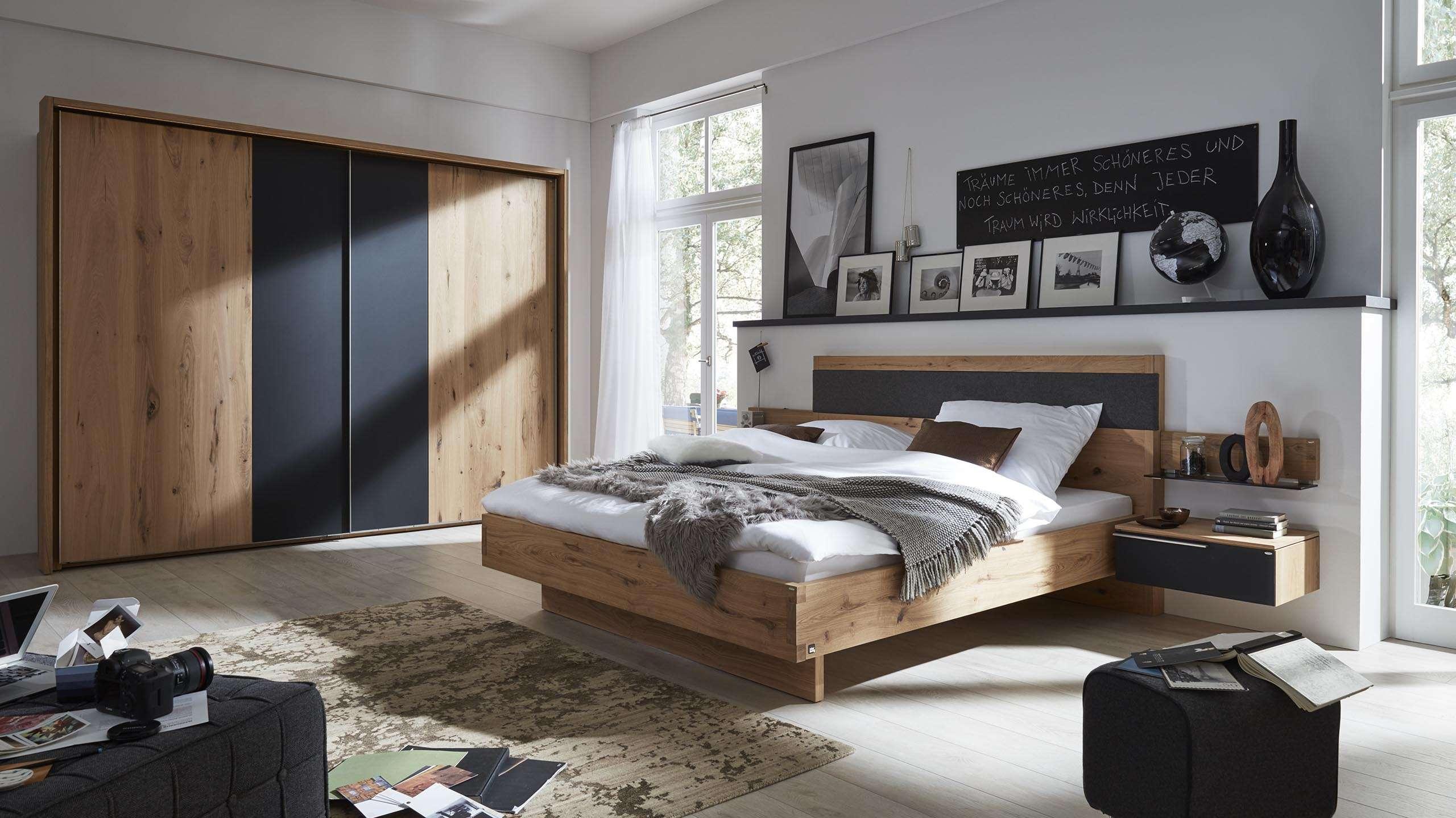 interliving schlafzimmer serie 1004 set holz und glas mbel fischer