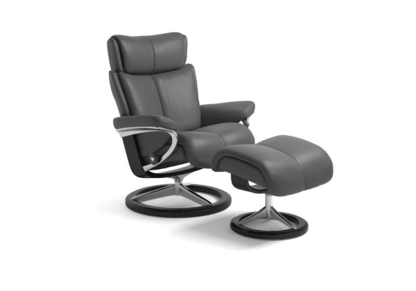 Stressless-Sessel-Magic-S-grau