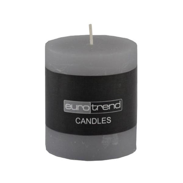 Kaheku Kerze Rusti schiefer Zylinderform zylinderförmig Kerzenlicht Dochtkerze