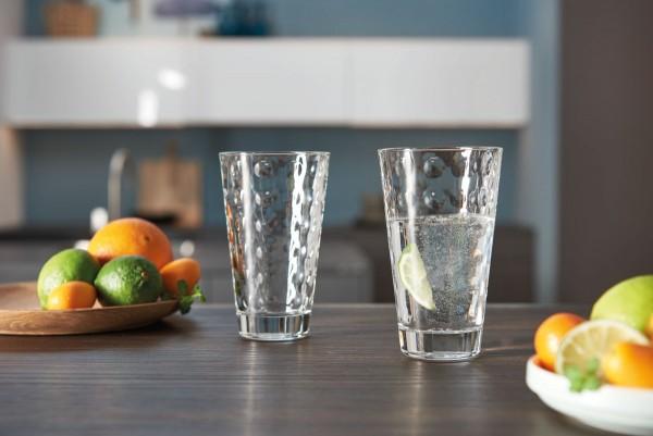 Leonardo Becher Optic Glas stylisches Innenrelief