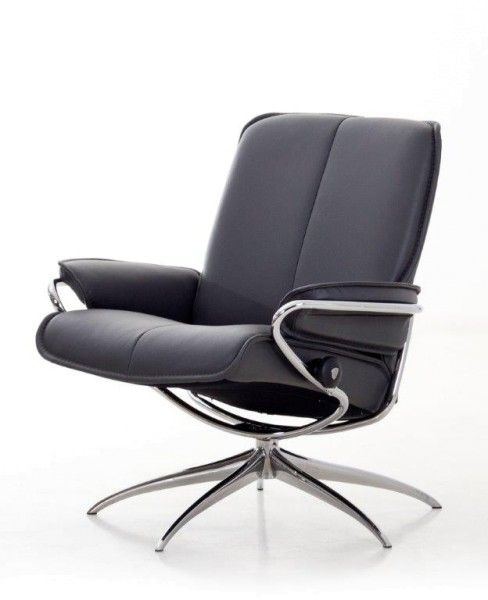 Stressless-Sessel-City-Leder-schwarz