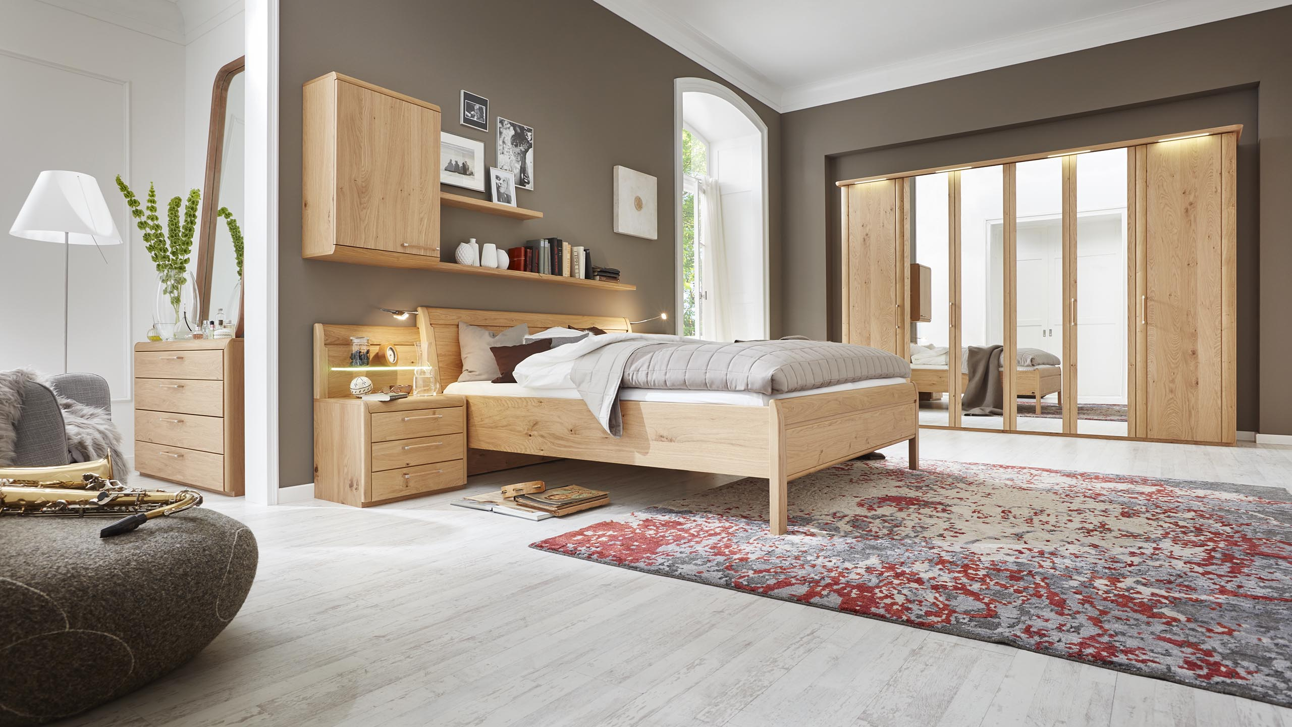 interliving schlafzimmer serie 1001 schlafzimmer wildeiche m bel fischer. Black Bedroom Furniture Sets. Home Design Ideas
