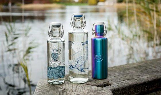 Soulbottles Trinkflaschen Motive Design Künstler - Marken bei Möbel Fischer