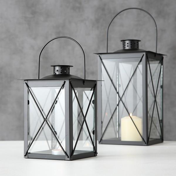Boltze Laterne Farol Schwarz schlicht und modern skandinavisches Design