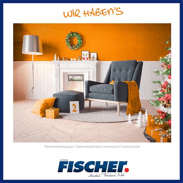 der facebook adventskalender von unserem verband vme neuigkeiten unternehmen m bel fischer. Black Bedroom Furniture Sets. Home Design Ideas