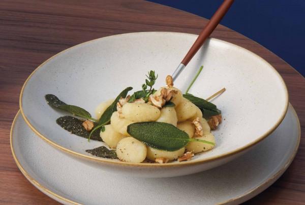 ASA Selection Pastateller Saisons sand Steinzeuggeschirr moderne Geschirrserie beige Steinzeug robust