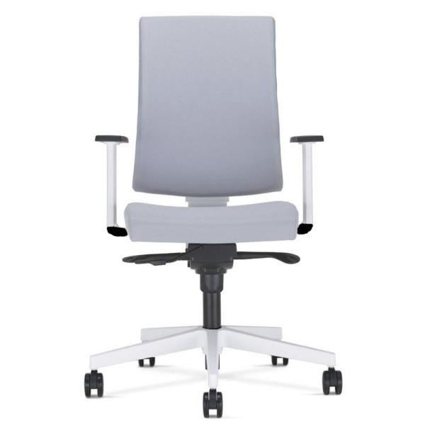 Nowy Styl Drehstuhl Navigo Weiß Wippfunktion stufenlose Sitzhöhenverstellung verstellbare Armlehnen modern hell Sitzneigeverstellung