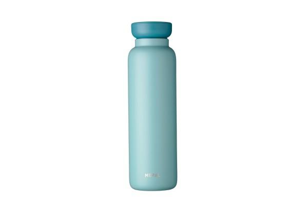 Mepal Thermoflasche Ellipse Grün für wame kalte kühle heiße Getränke unterwegs to Go 900ml