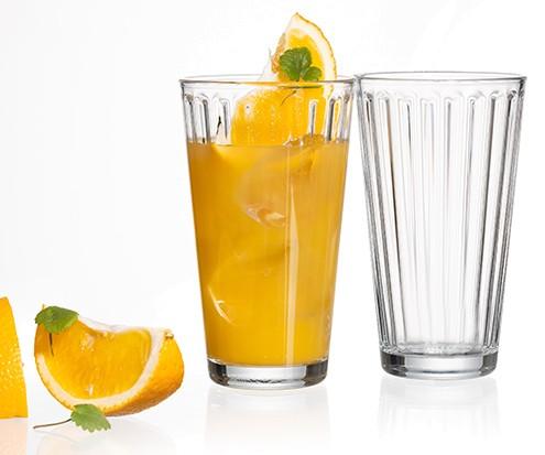 Ritzenhoff und Breker Becher Lawe Klar Trinkglas 400ml Getränk Getränkeinhalt