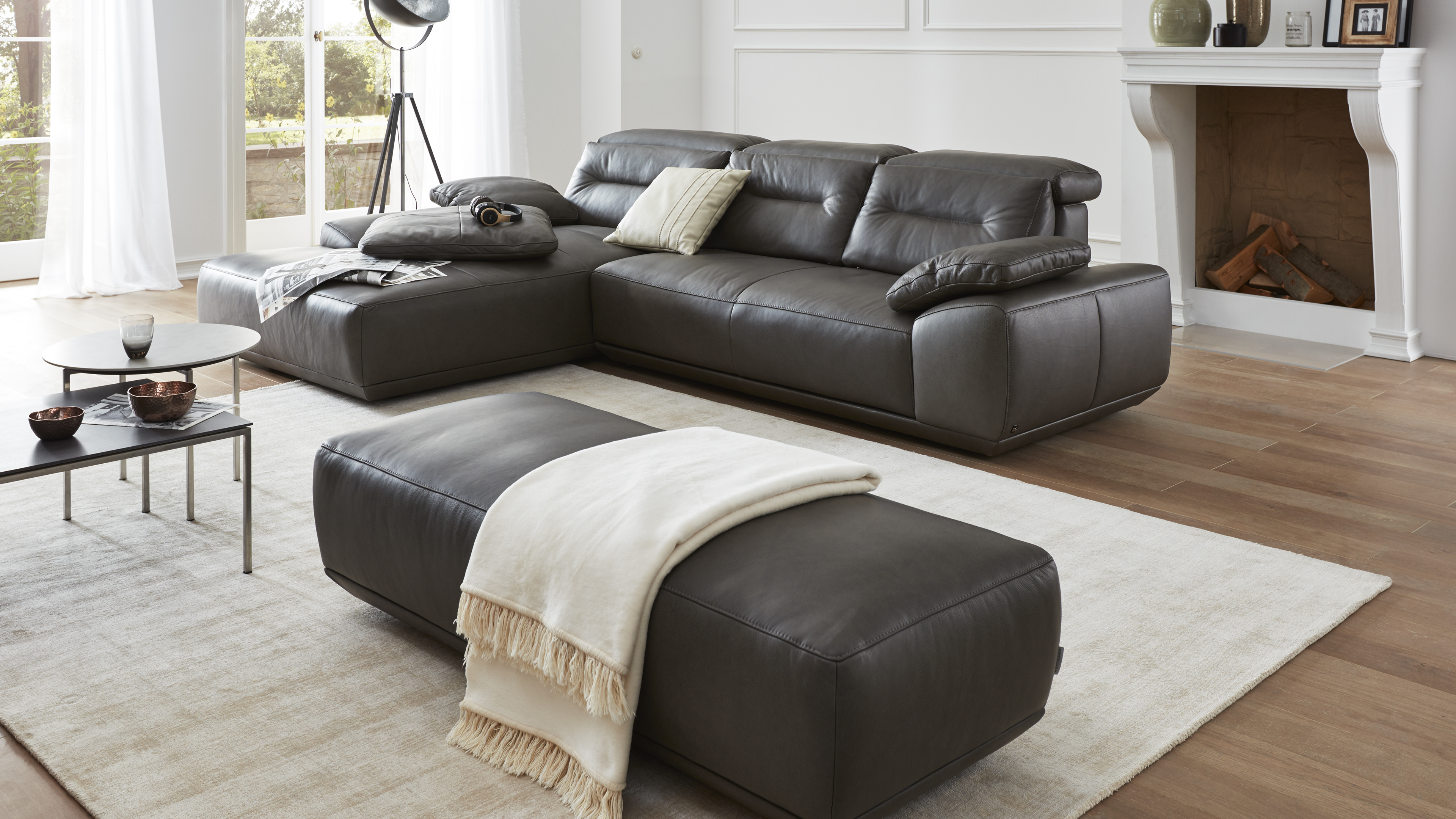 interliving sofa serie 4000 m bel fischer. Black Bedroom Furniture Sets. Home Design Ideas