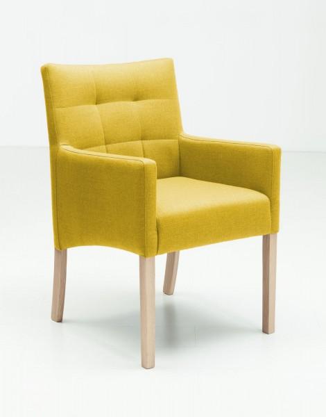 Jakobsen-Home-Armlehnstuhl-Capi-Yellow