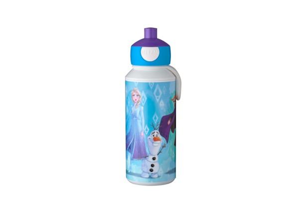 Mepal Trinkflasche Pop-Up Campus Frozen II aus BPA-freiem Kunststoff spülmaschinenfest inkl. Trageschlaufe