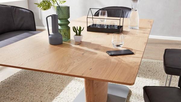 Interliving Tisch 5503 Asteiche Esstisch zeitlos modern schlicht runde Kanten