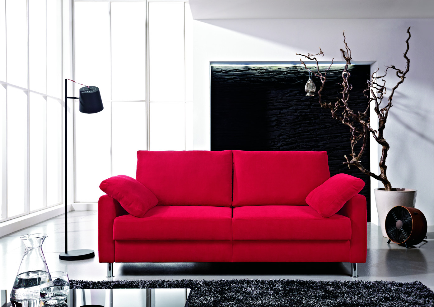stoffsofas sofas wohnzimmer m bel m bel fischer. Black Bedroom Furniture Sets. Home Design Ideas