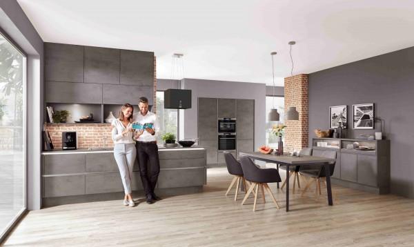 Nobilia-Küche-Riva-Beton-Küchenzeile-mit-Hochschrank-Trend