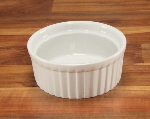 CreaTable Ragout Fin Universal weiß Porzellan Porzellanschälchen hitzebeständig mikrowellengeeignet spülmaschinengeeignet