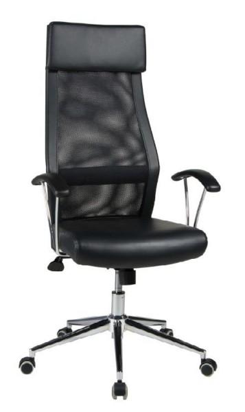 Duo-Collection-Chefsessel-Daria-Büro-Drehstuhl-schwarz