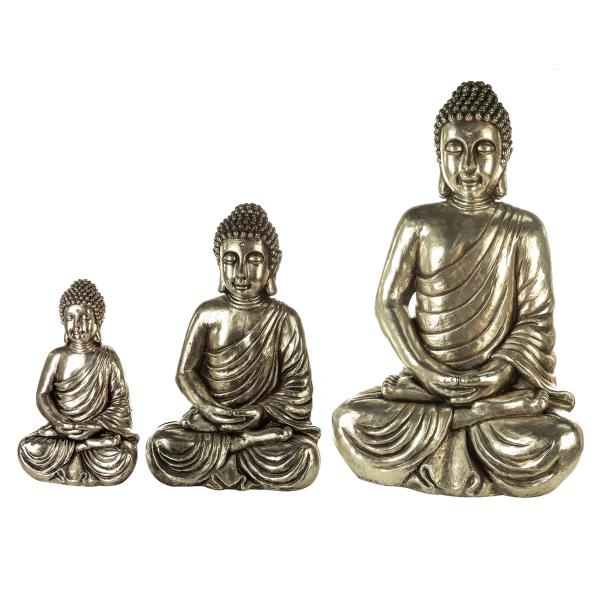 Casablanca Figur Buddha sitzend