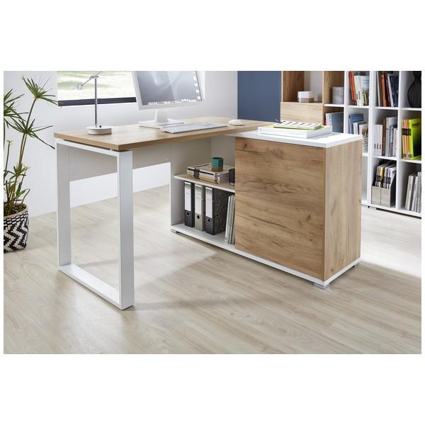 Germania-Schreibtisch-Gerlis-mit-Regal-Kombination